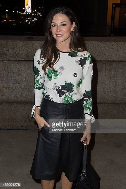 April Hennig attends Rag Bone during MercedesBenz Fashion Week Spring 2015 at Skylight at Moynihan Station on September 8 2014 in New York City