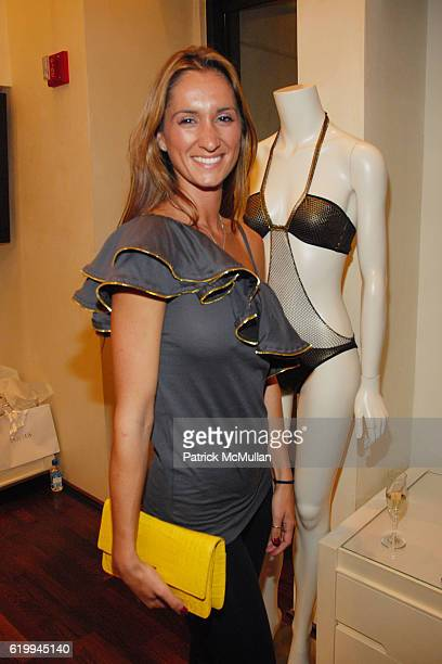 April Jubela attends LA PERLA CELEBRATES FALL 2008 COLLECTION at Rodeo Drive on October 22 2008 in Beverly Hills CA