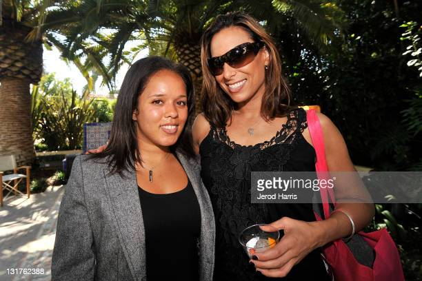 April King and Denise Lamoureaux attend Alison Brod Public Relations Los Angeles Summer Style Event on June 15 2011 in Beverly Hills California