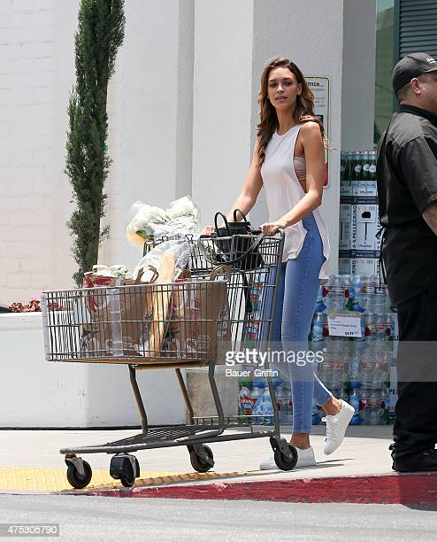 April Love Geary is seen in Beverly Hills on May 30 2015 in Los Angeles California
