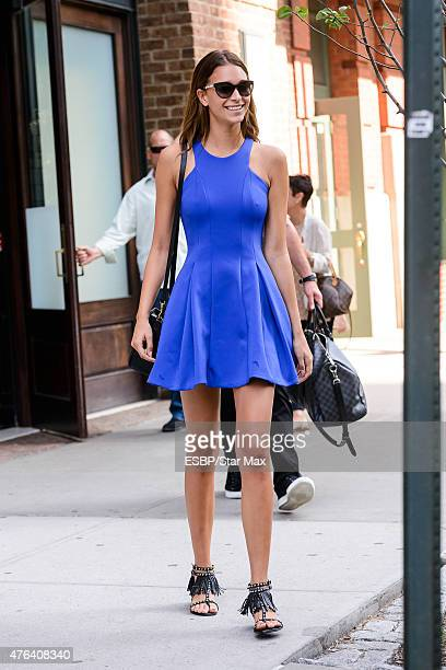 April Love Geary is seen on June 8 2015 in New York City