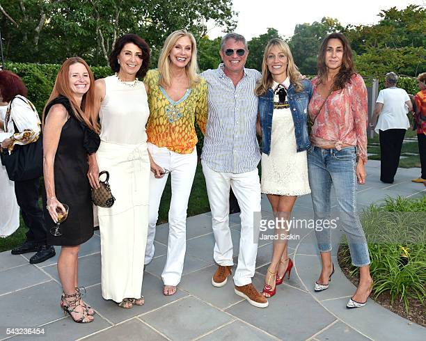 April Malloy Pnina Anza Dara Sowell Hollie Watman Robert Futterman and Mirium Bruni attend The Hollie Watman Launch Party at Private Residence on...