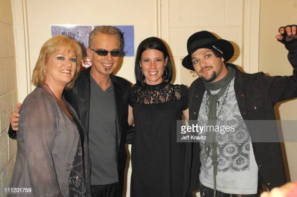 April Margera Billy Bob Thornton Missy Margera and Bam Margera