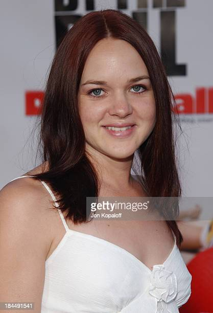 April Matson during 'DodgeBall A True Underdog Story' World Premiere Arrivals at Mann Village Theatre in Westwood California United States