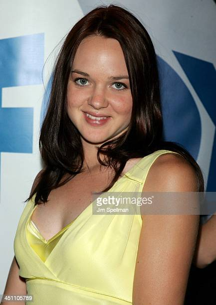 April Matson during FOX 20042005 Prime Time Upfront After party at Central Park Boathouse in New York City New York United States