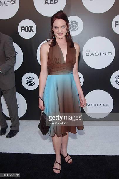 April Matson during Fox New Season Launch Party at Santa Monica Beach in Santa Monica California United States