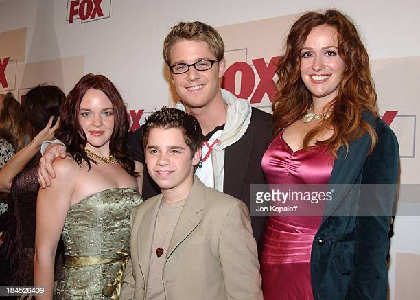 April Matson Ryan Pinkston Jake McDorman and Rebecca Creskoff from 'Quintuplets'