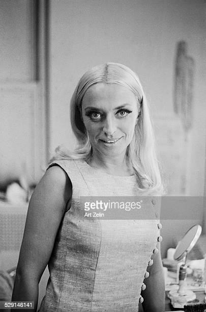 April Olrich closeup circa 1970 New York
