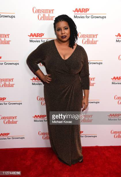 April Reign attends AARP The Magazine's 18th Annual Movies for Grownups Awards at the Beverly Wilshire Four Seasons Hotel on February 04 2019 in...
