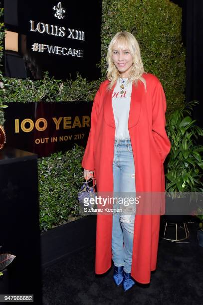 April Roomet attends LOUIS XIII Cognac Presents '100 Years' The Song We'll Only Hear #IfWeCare by Pharrell Williams at Goya Studios on April 17 2018...