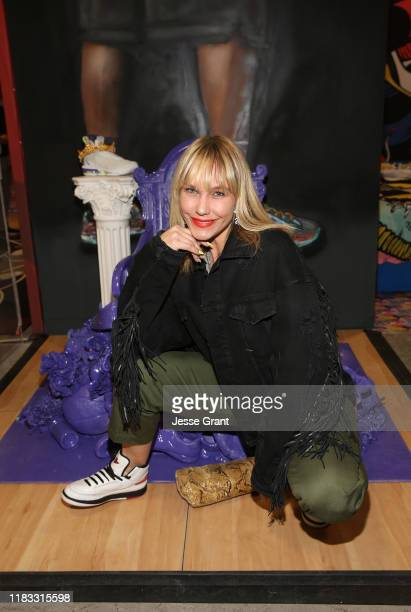 April Roomet attends the Sneakertopia Los Angeles VIP Preview at HHLA on October 24 2019 in Los Angeles California