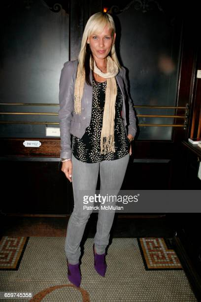 April Roomet attends TOPSHOP TOPMAN HOSTS PRIVATE DINNER TO CELEBRATE FLAGSHIP STORE OPENING at Balthazar on March 31 2009 in New York City