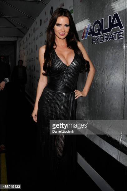 April Rose attends Talent Resources Sports presents Maxim 'Big Game Weekend' sponsored by AQUAhydrate Heavenly Resorts Wonderful Pistachios Patron...