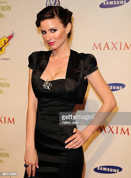 April Rose, Maxim Hometown Hottie 2008 attends The Maxim Party 2010 at The Raleigh on February 6, 2010 in Miami, Florida.