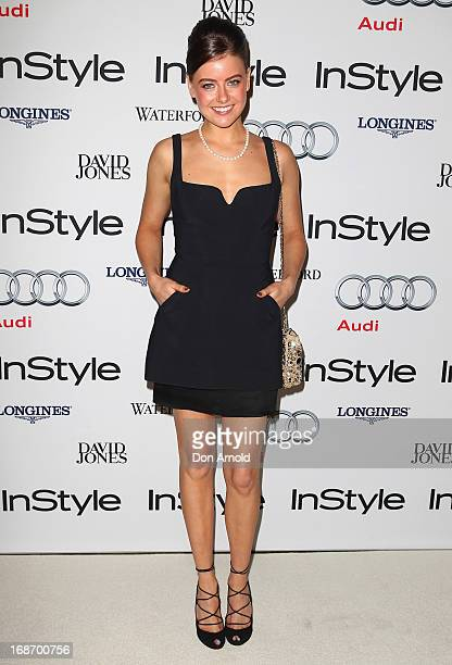 April Rose Pengilly arrives at the 2013 Instyle and Audi Women of Style Awards at Carriageworks on May 14 2013 in Sydney Australia
