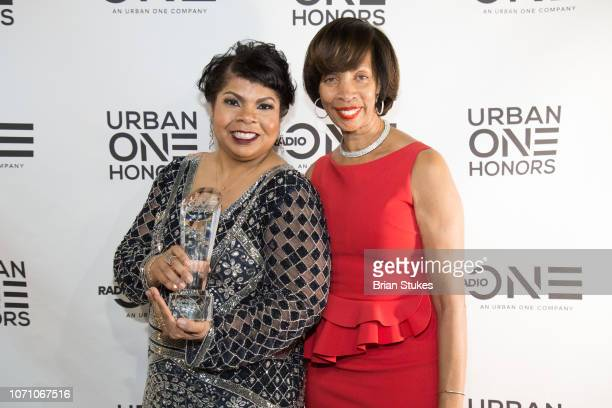 April Ryan and Catherine Pugh attend 2018 Urban One Honors at The Anthem on December 9 2018 in Washington DC