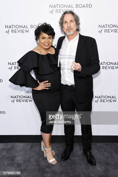 April Ryan and Peter Farrelly attend The National Board of Review Annual Awards Gala at Cipriani 42nd Street on January 8, 2019 in New York City.