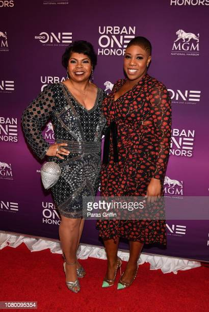 April Ryan and Symone D Sanders attend 2018 Urban One Honors at La Vie on December 9 2018 in Washington DC
