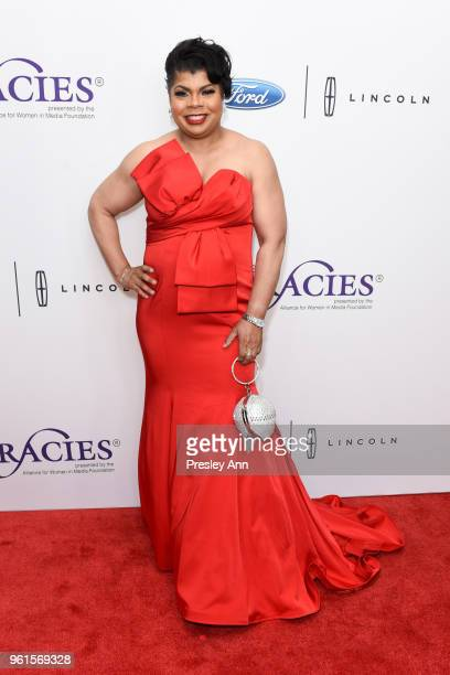 April Ryan arrives at the 43rd Annual Gracie Awards at the Beverly Wilshire Four SeasonsHotel on May 22 2018 in Beverly Hills California