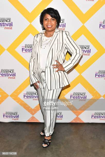 April Ryan attends the 2018 Essence Festival presented by CocaCola at Ernest N Morial Convention Center on July 7 2018 in New Orleans Louisiana