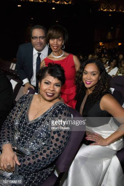 April Ryan Michael Eric Dyson Baltimore mayor Catherine Pugh and Marilyn Mosby attend 2018 Urban One Honors at The Anthem on December 9 2018 in...