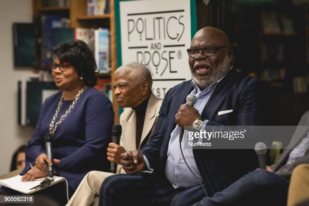 April Ryan moderated a panel discussion on Race in America with Mary Frances Berry the Geraldine R Segal Professor of American Social Thought and...