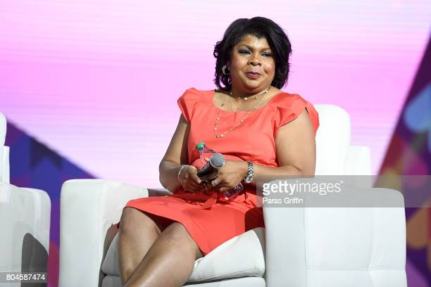 April Ryan speaks onstage at the 2017 ESSENCE Festival presented by CocaCola at Ernest N Morial Convention Center on June 30 2017 in New Orleans...
