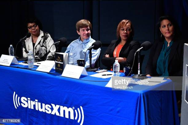 April Ryan White House correspondent for the American Urban Radio Network Dr Allan Lichtman professor of history at American University civil rights...