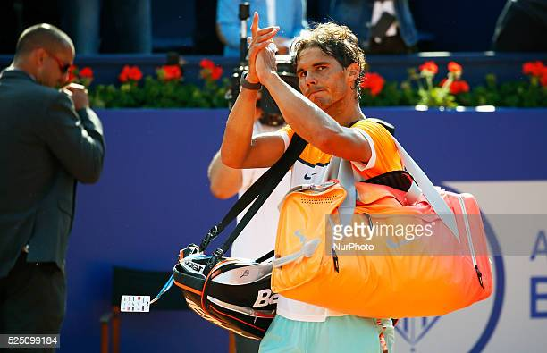 Rafa Nadal in the 8th match i between Fabio Fognini in the Barcelona Open Banc Sabadell held in the RCT Barcelona 1899 23 april 2015 Photo Joan...