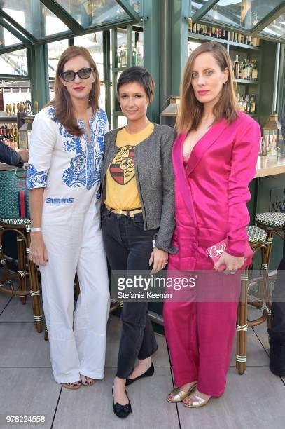 April Uchitel Cassandra Grey and Liz Goldwyn attend the BoF West Summit at Westfield Century City on June 18 2018 in Century City California