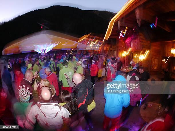 AprèsSki party in Stubai Austria