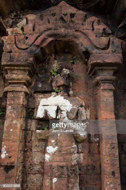 Apsara at My Son Ruins My Son Ruins Sanctuary are set in a small valley in Quang Nam Province about 40 km from Hoi An Each new monarch came to My Son...