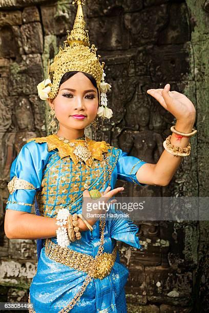 Apsara Dançarino em Angkor Wat