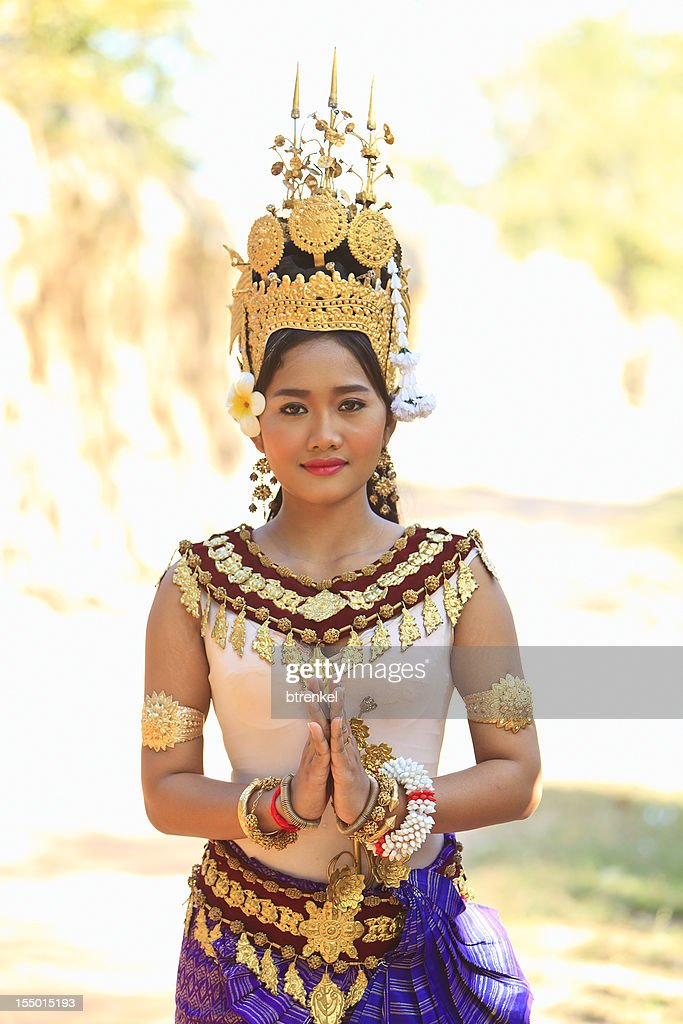 Apsara dancer : Stock Photo