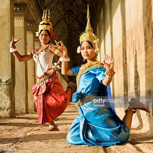Apsara Dançarinos em Angkor Wat