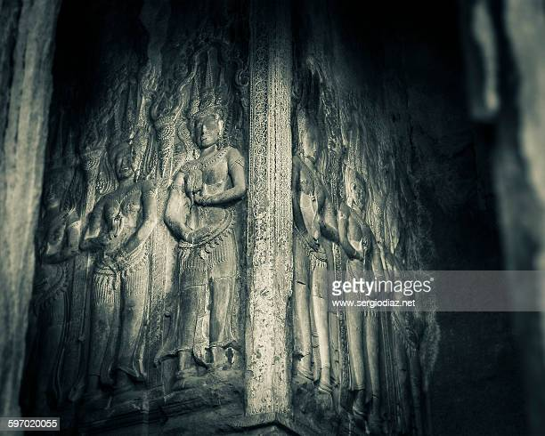apsaras - classical mythology character stock photos and pictures