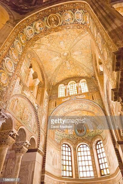 Apse of Basilica of San Vitale, Ravenna.