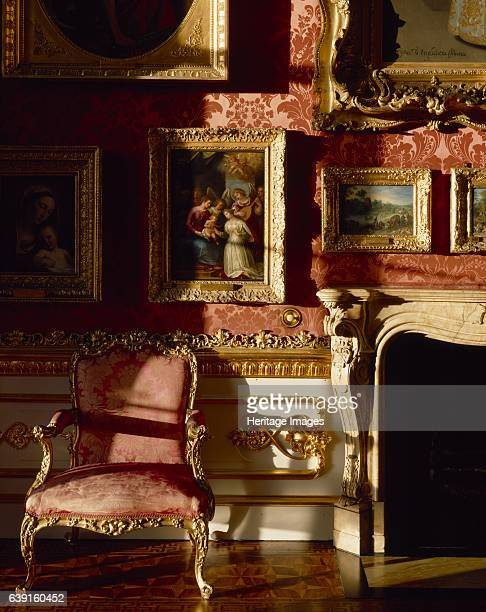 Apsley House Hyde Park Corner Westminster London c19902010 Detail of the north wall and fireplace in the Waterloo Gallery Also known as Number One...