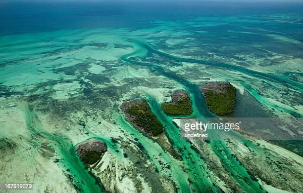 aqua water northwest of key west - florida keys stock pictures, royalty-free photos & images