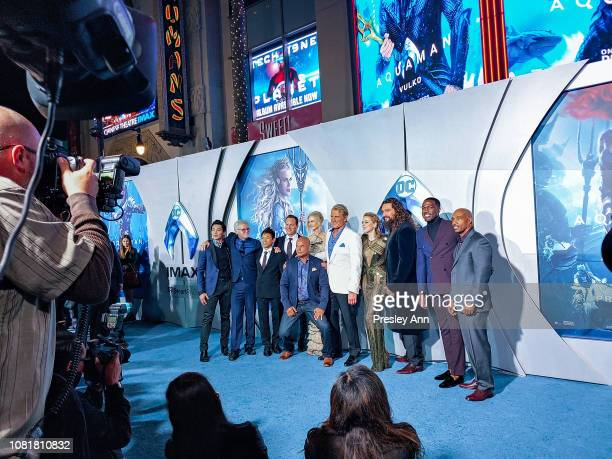 Aquaman Cast attends Premiere Of Warner Bros Pictures' 'Aquaman' at TCL Chinese Theatre on December 12 2018 in Hollywood California