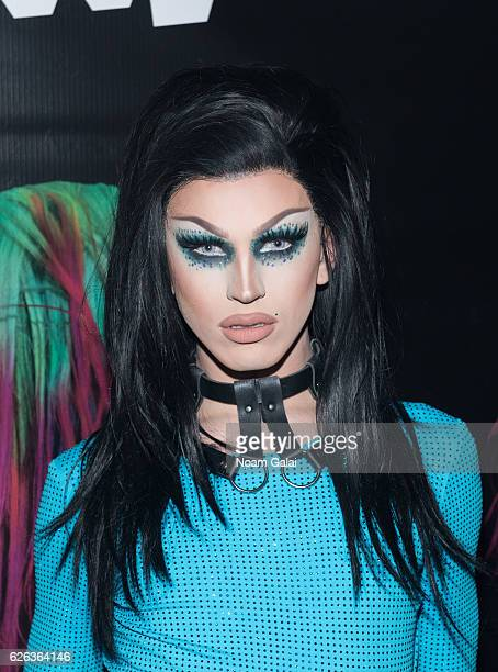 Aquaria attends 'Charliewood An Exhibition Of Transgressive Movement' at Cedar Lake on November 28 2016 in New York City