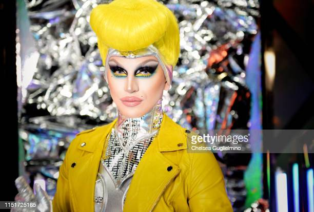 Aquaria attends RuPaul's DragCon LA 2019 at Los Angeles Convention Center on May 25 2019 in Los Angeles California