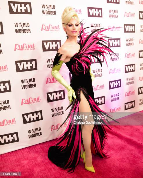 Aquaria attends the RuPaul's Drag Race Season 11 Finale Taping at Orpheum Theatre on May 13 2019 in Los Angeles California