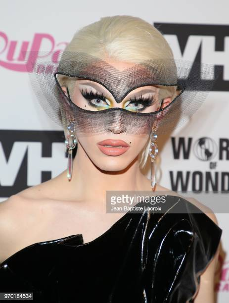 Aquaria attends VH1's 'RuPaul's Drag Race' Season 10 Finale on June 08 2018 in Los Angeles California