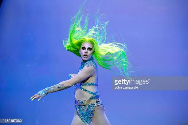 Aquaria performs during RuPaul's Drag Race Werq The World 2019 at Hammerstein Ballroom on October 19 2019 in New York City