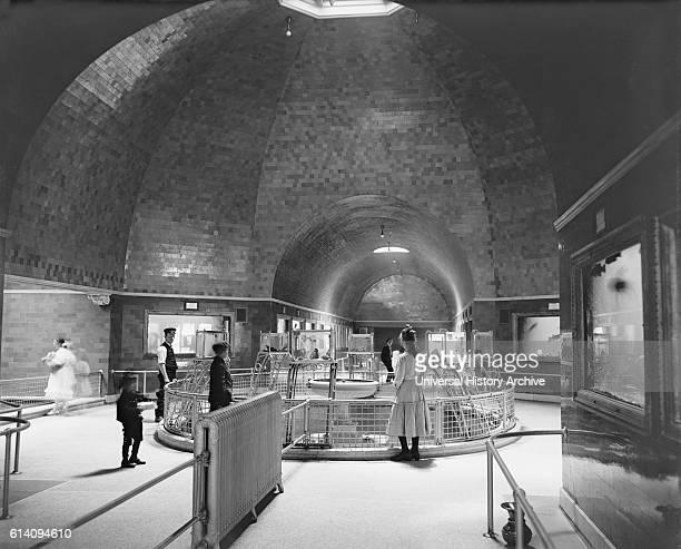 Aquarium Belle Isle Park Detroit Michigan USA circa 1910