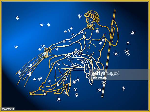 aquarius - astrology sign stock photos and pictures