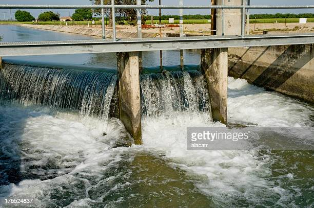 Aqueduct for Agricultural Irrigation Water, Central Valley, California