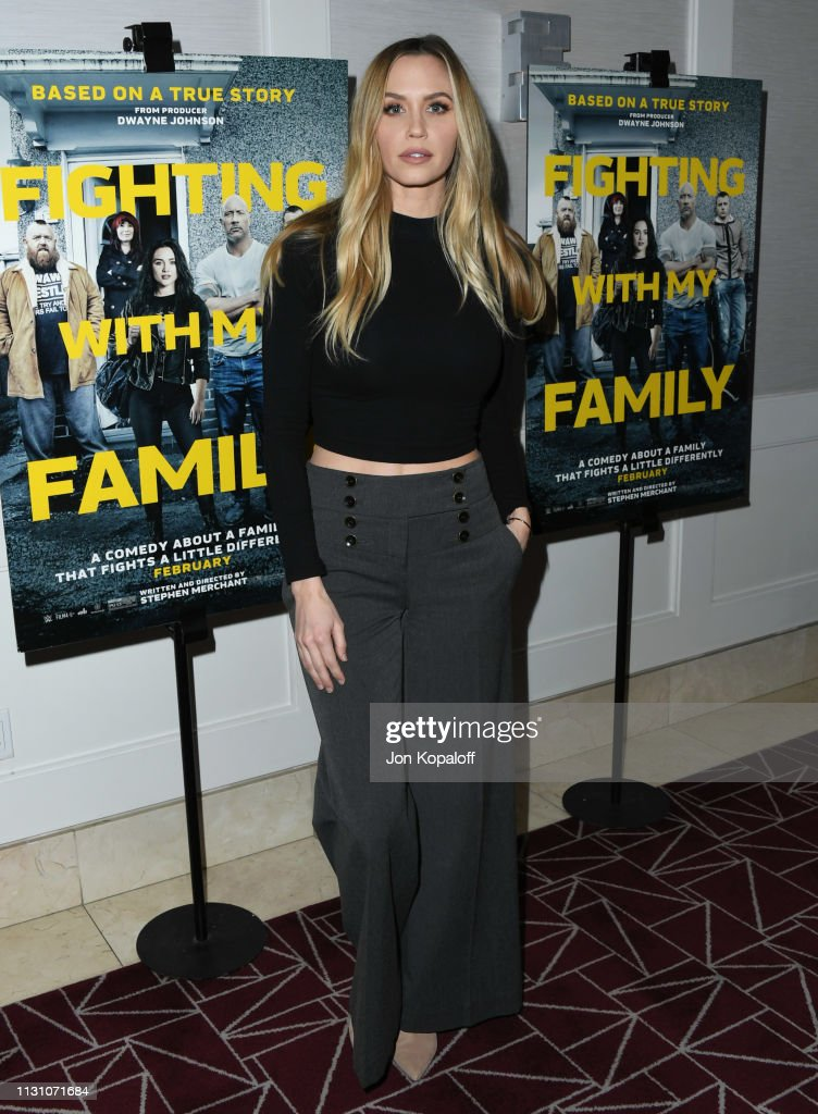 """Fighting With My Family"" Los Angeles Tastemaker Screening : News Photo"