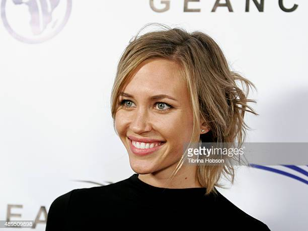 Aqueela Zoll attends The GEANCO Foundation's Impact Africa Hollywood fundraiser at Sunset Gower Studios on September 21 2015 in Hollywood California